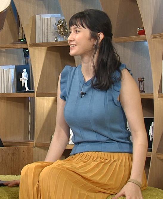 市川紗椰 巨乳がさらに大きくなっていないキャプ画像(エロ・アイコラ画像)