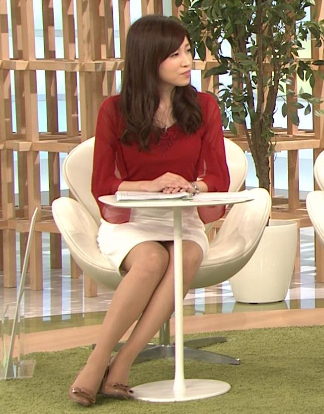 竹内優美 美脚&ミニスカのデルタゾーンキャプ画像(エロ・アイコラ画像)