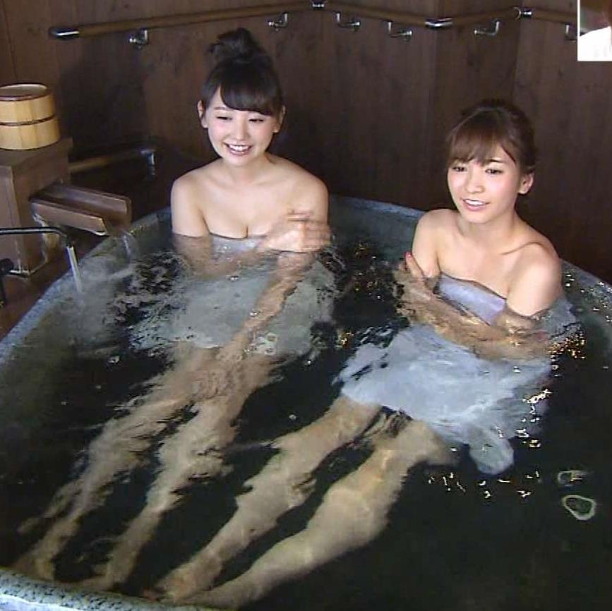 おのののか ほのかと温泉入浴がエロい。ほのかのビキニもエロい。キャプ画像(エロ・アイコラ画像)