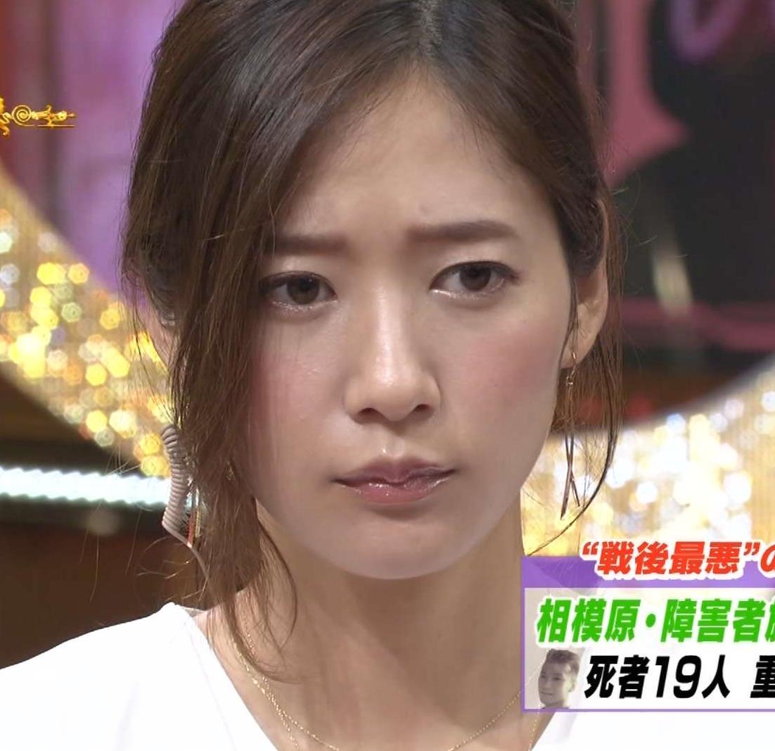 吉田明世 どアップで綺麗な顔。(サンデー・ジャポンより)キャプ画像(エロ・アイコラ画像)