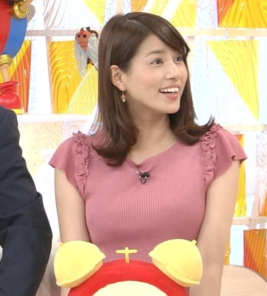 永島優美 大きくなってたニットおっぱいキャプ画像(エロ・アイコラ画像)