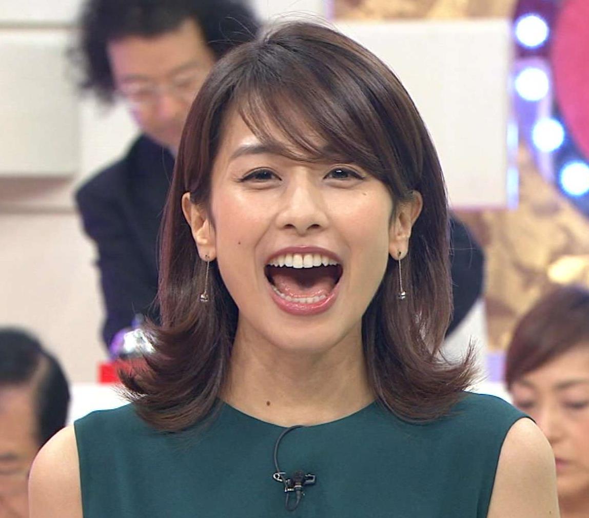 加藤綾子 綺麗な歯並びキャプ画像(エロ・アイコラ画像)