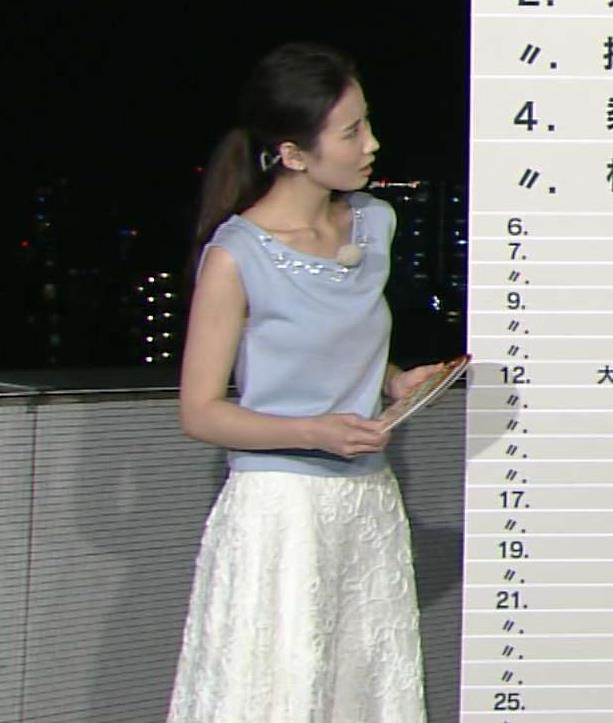 森川夕貴 美人アナのエロい薄着キャプ画像(エロ・アイコラ画像)