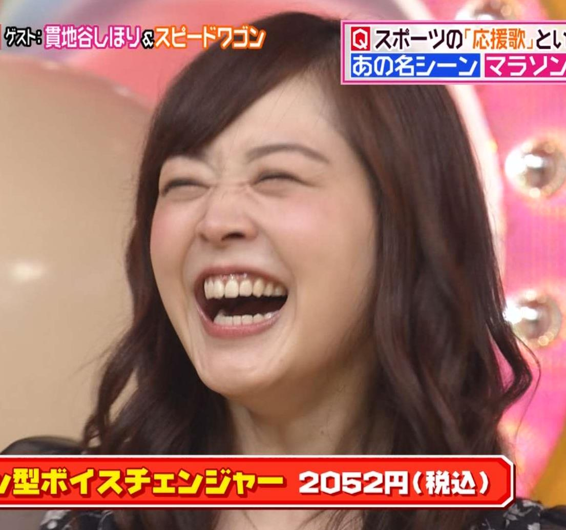 水卜麻美 綺麗な歯並び&疑似フェラキャプ画像(エロ・アイコラ画像)