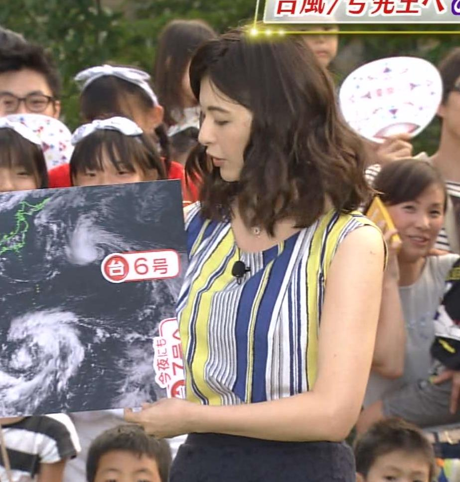 太田景子 色気があった天気予報キャプ画像(エロ・アイコラ画像)