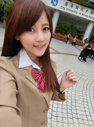 台湾美少女栄養士 Remin-高敏敏 自分撮り画像 3