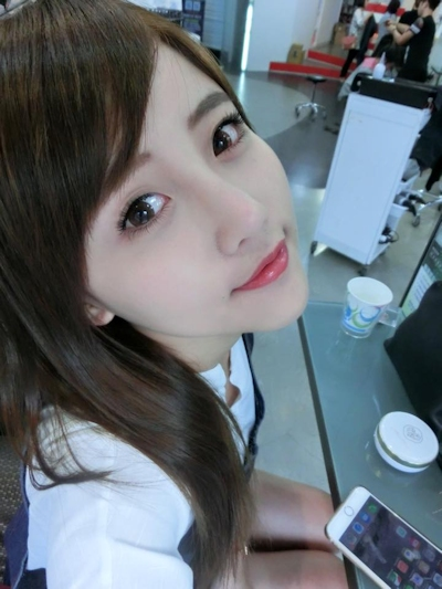 台湾美少女栄養士 Remin-高敏敏 自分撮り画像 8