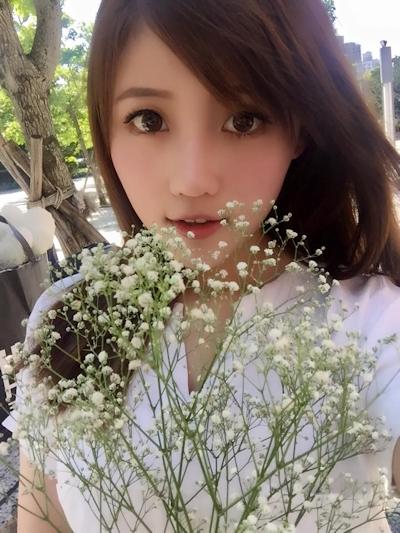 台湾美少女栄養士 Remin-高敏敏 自分撮り画像 14
