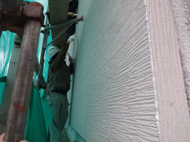 いまばやし厳原店外壁(看板)補修  完了